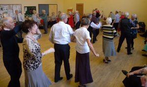 Sequence dancing at Trinity Methodist Church